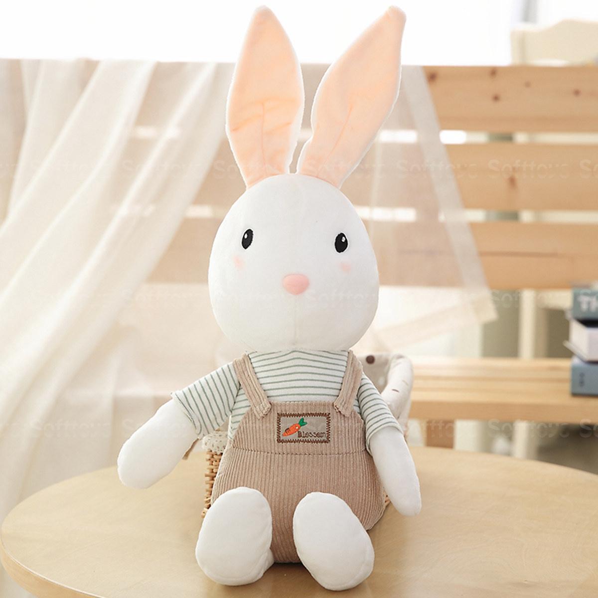 Мягкая игрушка Кролик в коричневых штанишках
