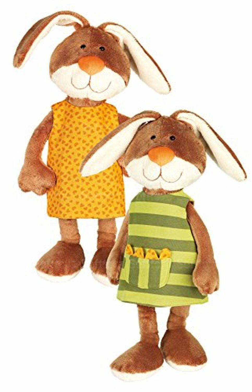 Мягкая игрушка Кролик в платье