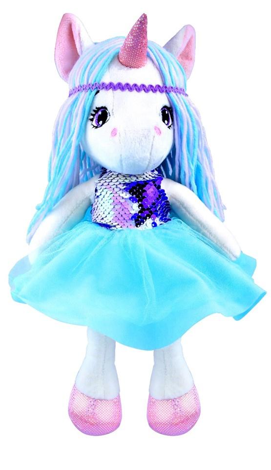 Мягкая игрушка Кукла Единорожка
