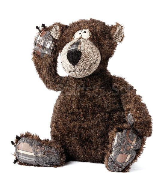 Мягкая игрушка BeastsTown Медведь Бонсай