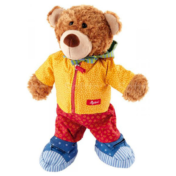 Мягкая игрушка Медвежонок с одеждой