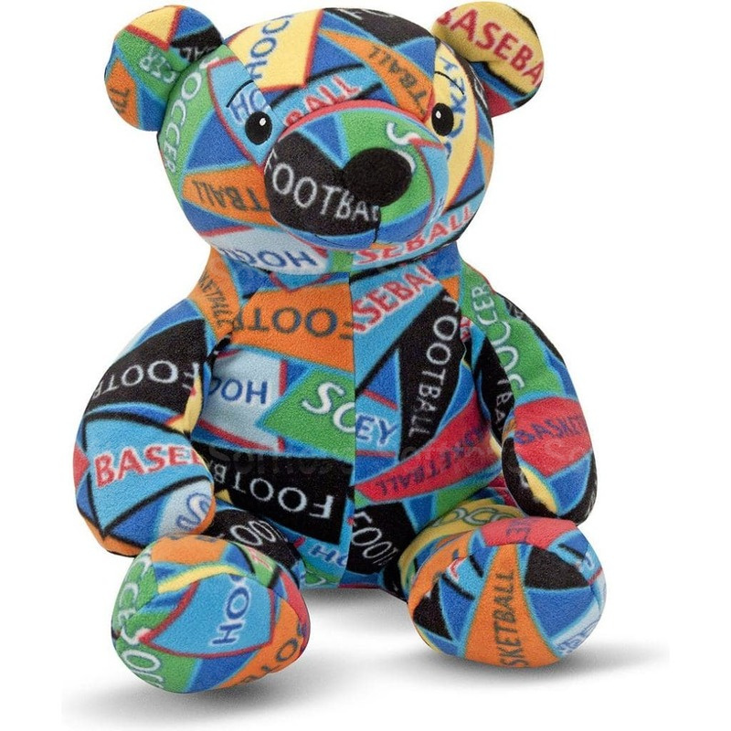 Мягкая игрушка Медвежонок-спортсмен Зак