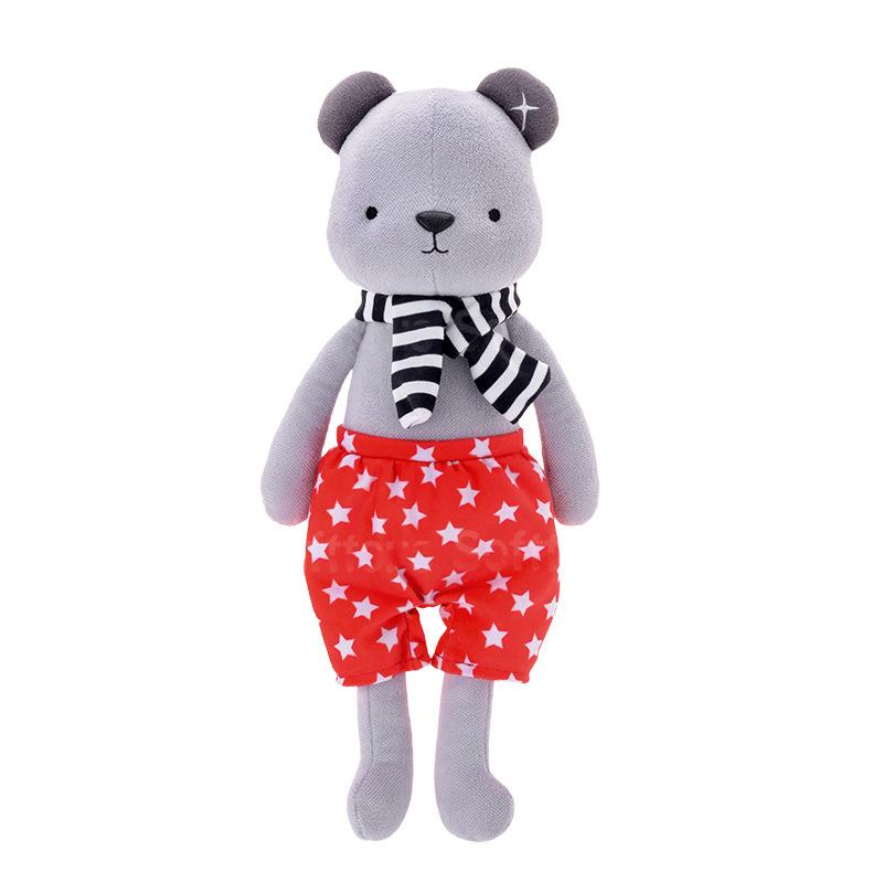 Мягкая игрушка Медвежонок в красных шортах