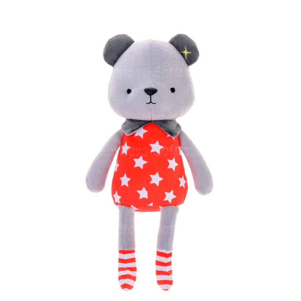 Мягкая игрушка Медвежонок в красном боди