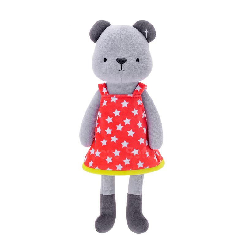 Мягкая игрушка Медвежонок в красном платье