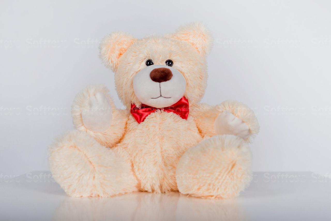 Мягкая игрушка Мишка Рональд Персик