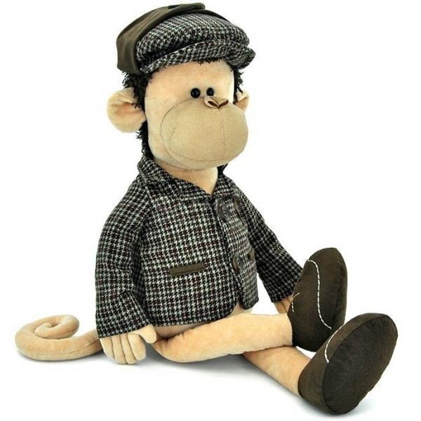 Мягкая игрушка Обезьянка Шерлок