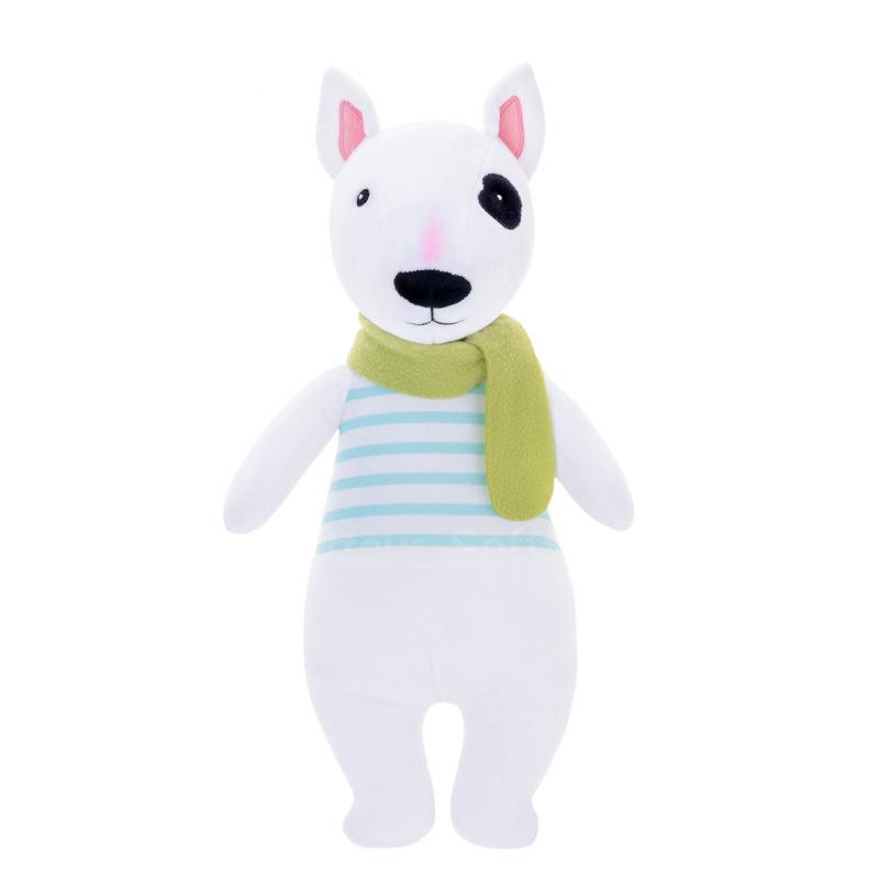Мягкая игрушка Пес в майке 45см
