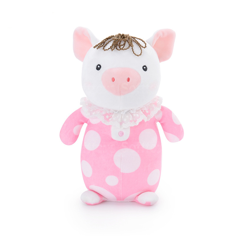 Мягкая игрушка Поросёнок Lili Pig Pink