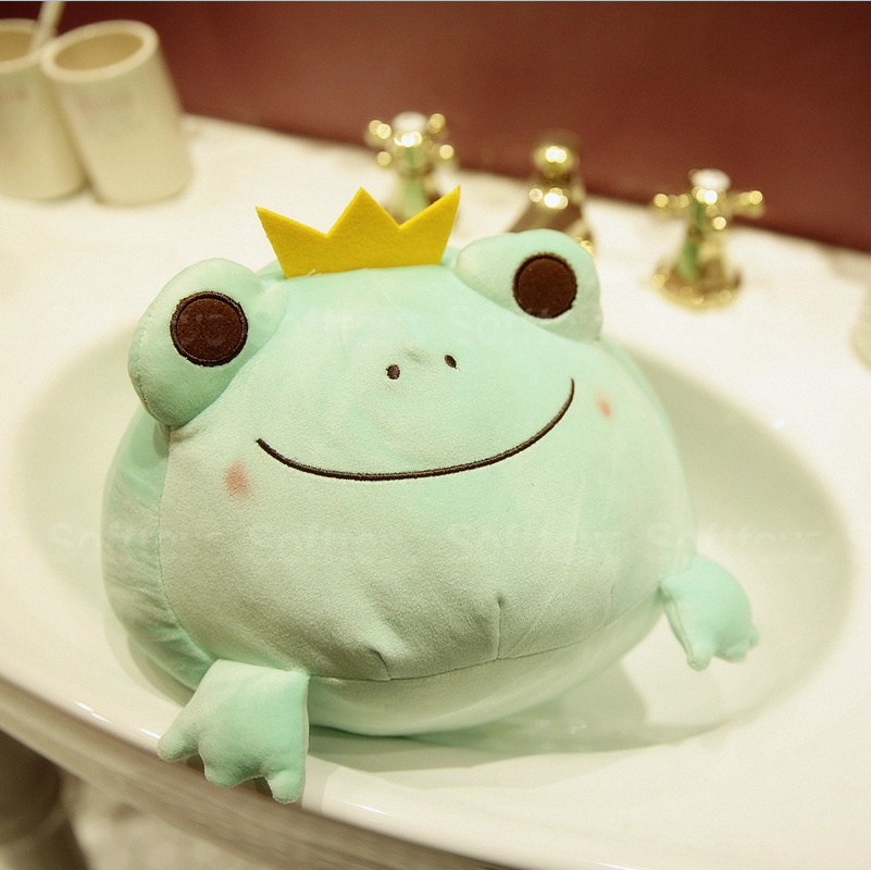 Мягкая игрушка Зеленая Лягушка 35см