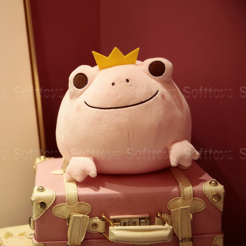 Мягкая игрушка Розовая Лягушка 42см