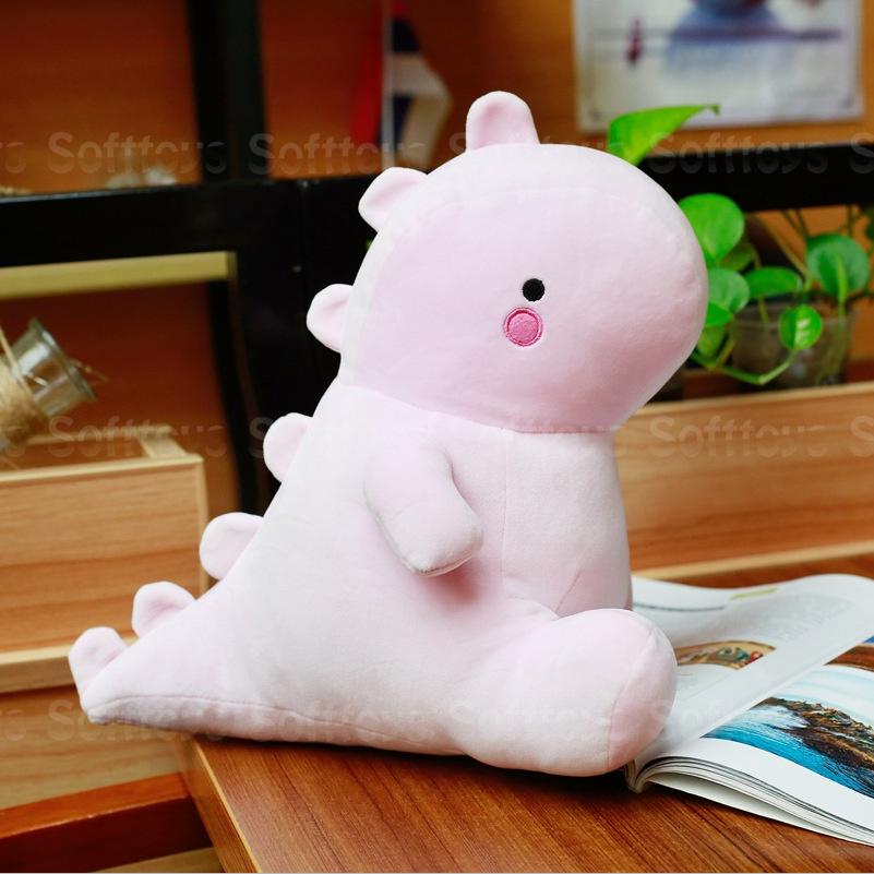 Мягкая игрушка Розовый Динозаврик 30см