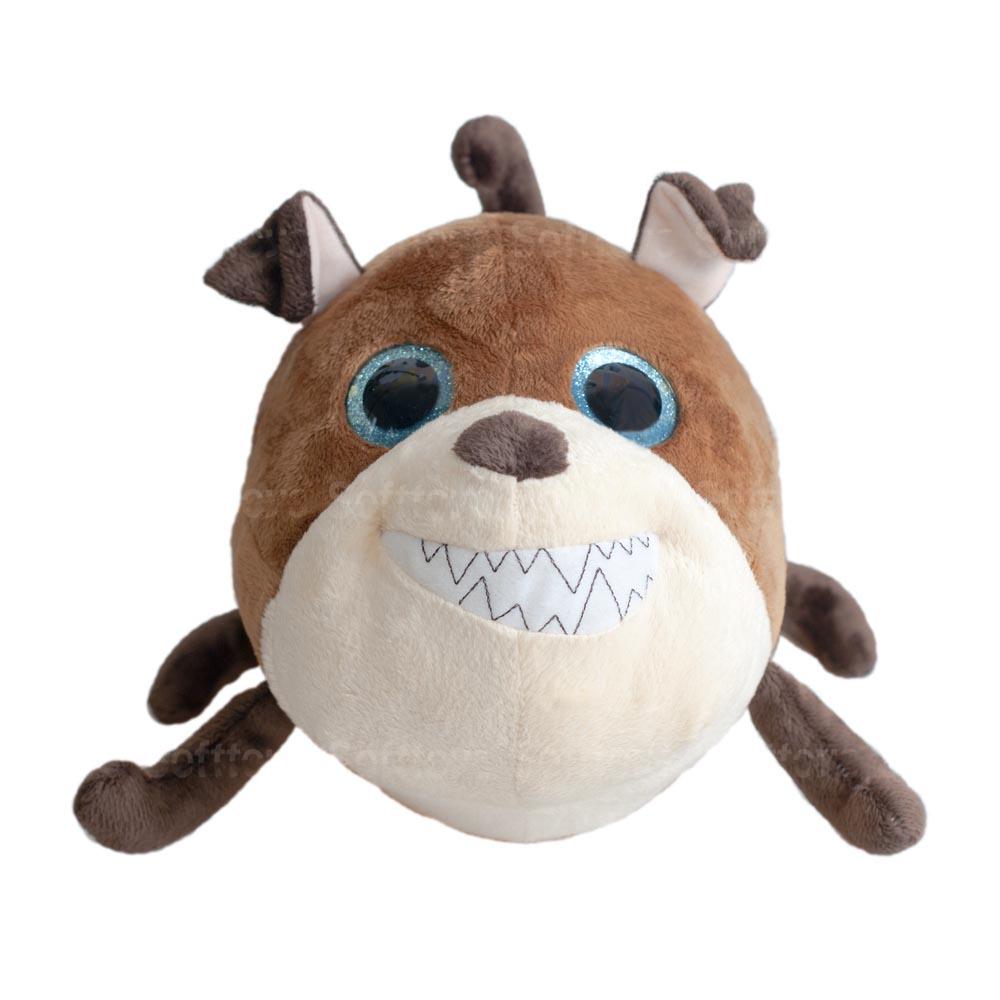 Мягкая игрушка Собачка Круглик 17 см