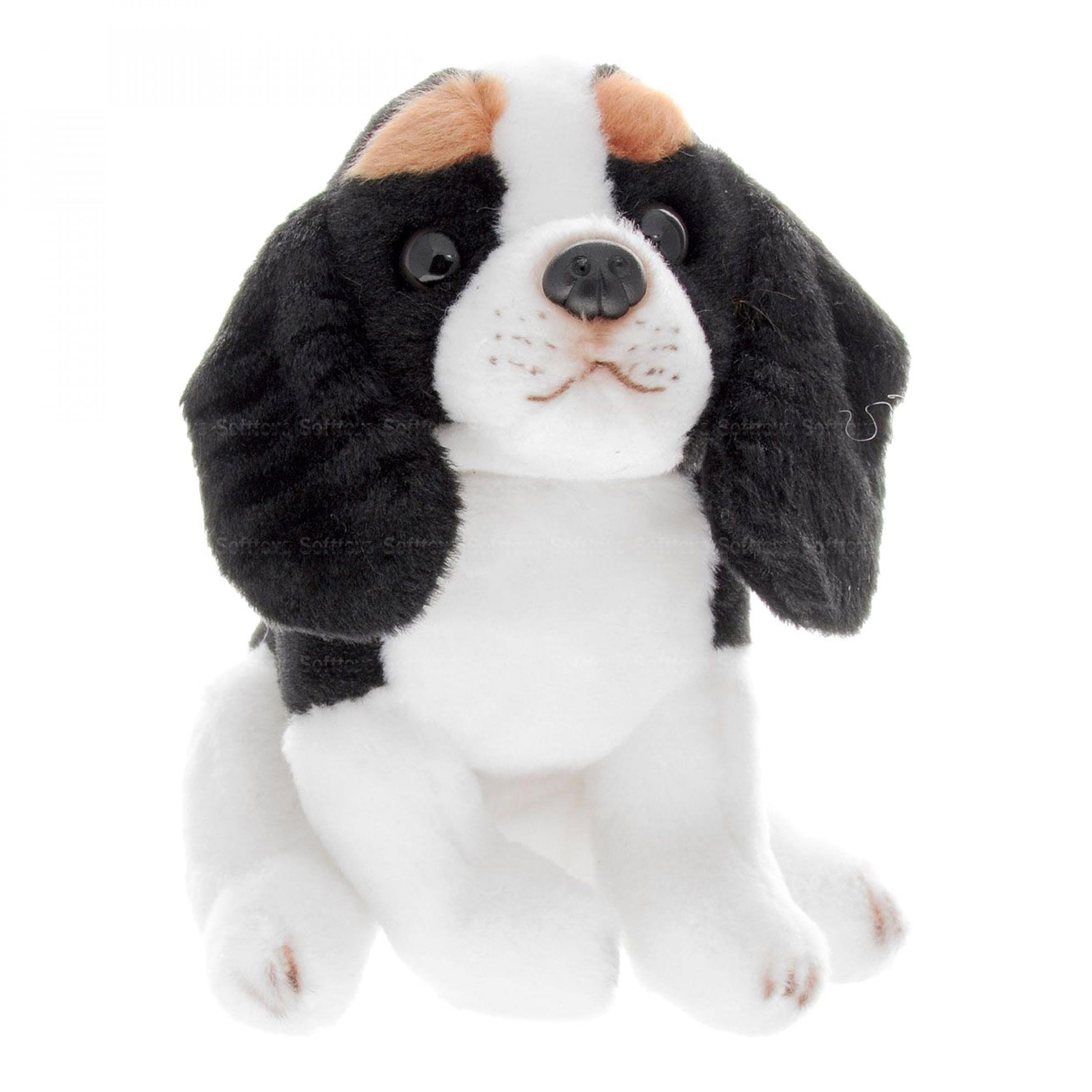 Мягкая игрушка Собака Эля 16 см