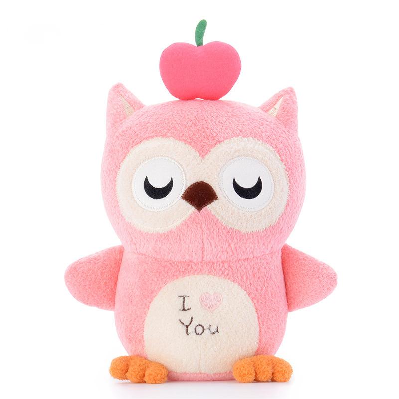 Мягкая игрушка Волшебная Совушка Pink