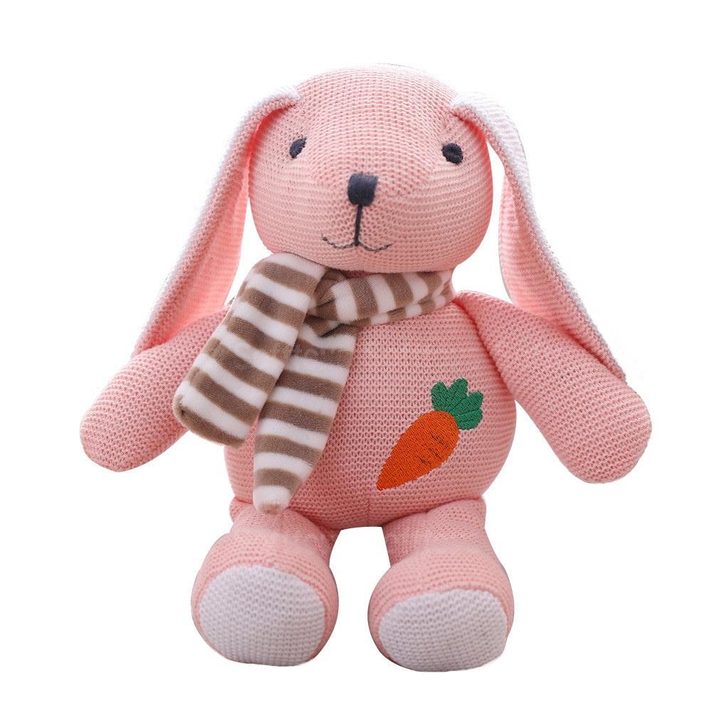 Мягкая игрушка Вязаный зайчик