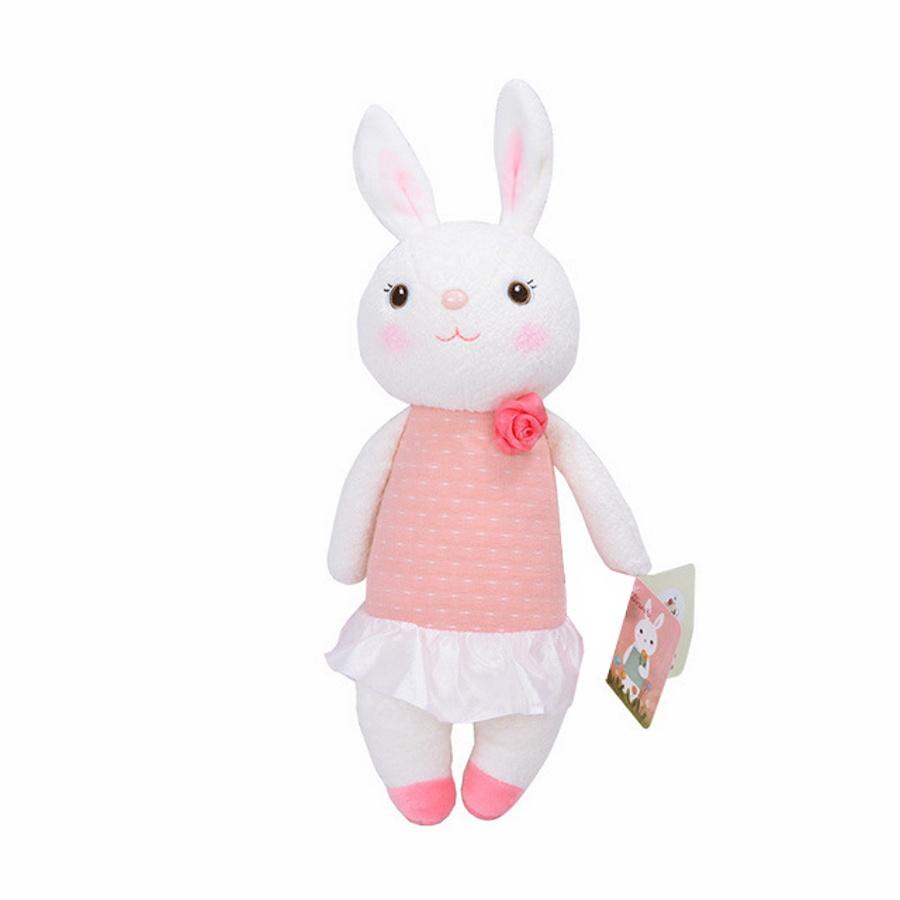 Мягкая игрушка Зайчик Tiramitu Pink Dress