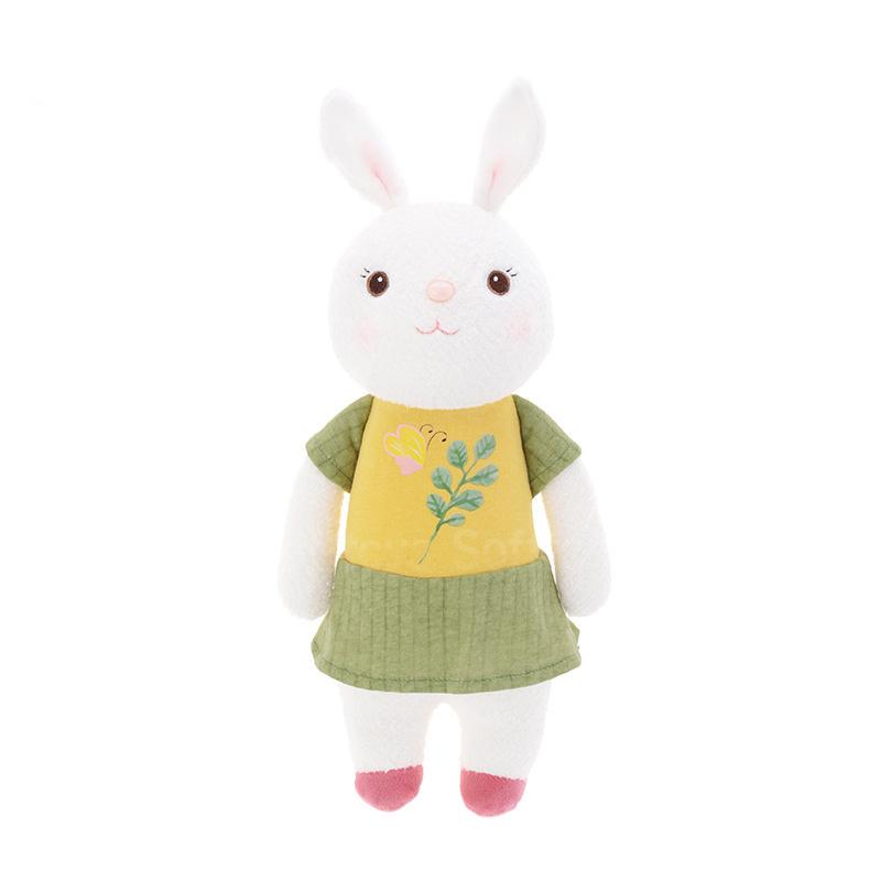 Мягкая игрушка Зайка Tiramitu Green-Yellow Dress