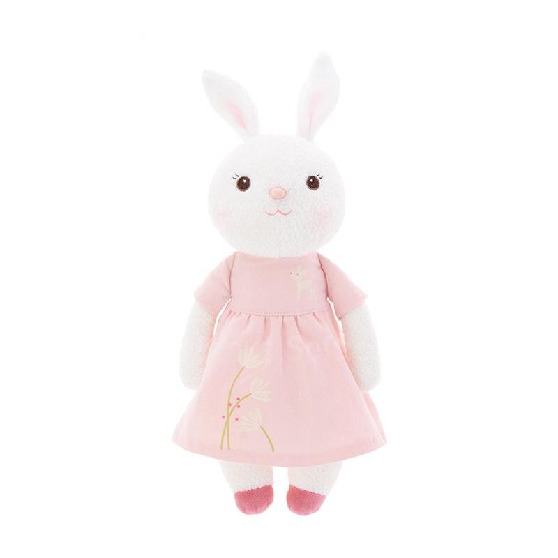 Мягкая игрушка Зайка Tiramitu Pink Dress