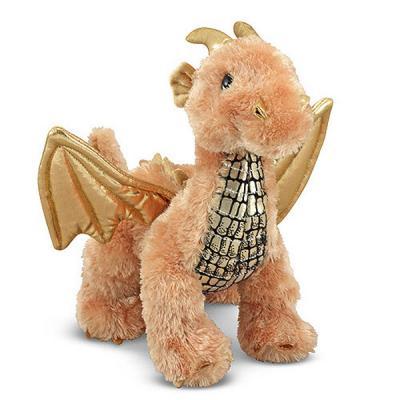 Мягкая игрушка Золотой Дракон