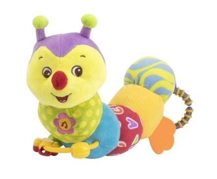 Мягкая игрушка-гусеница BabyTeam Гусеничка