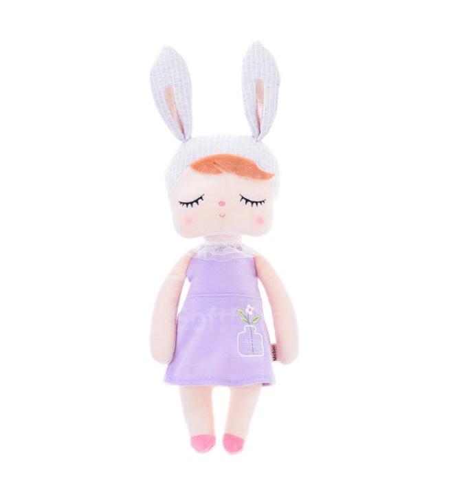 Мягкая игрушка-кукла Angela Purple bunny 33см
