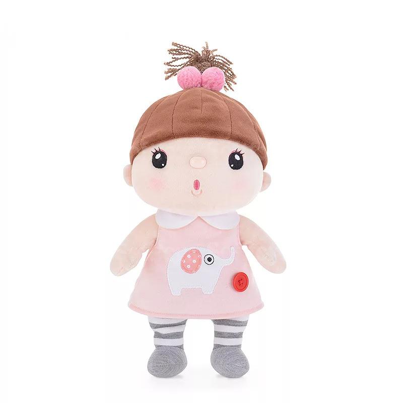 Мягкая игрушка-кукла Kawaii Pink-Gray