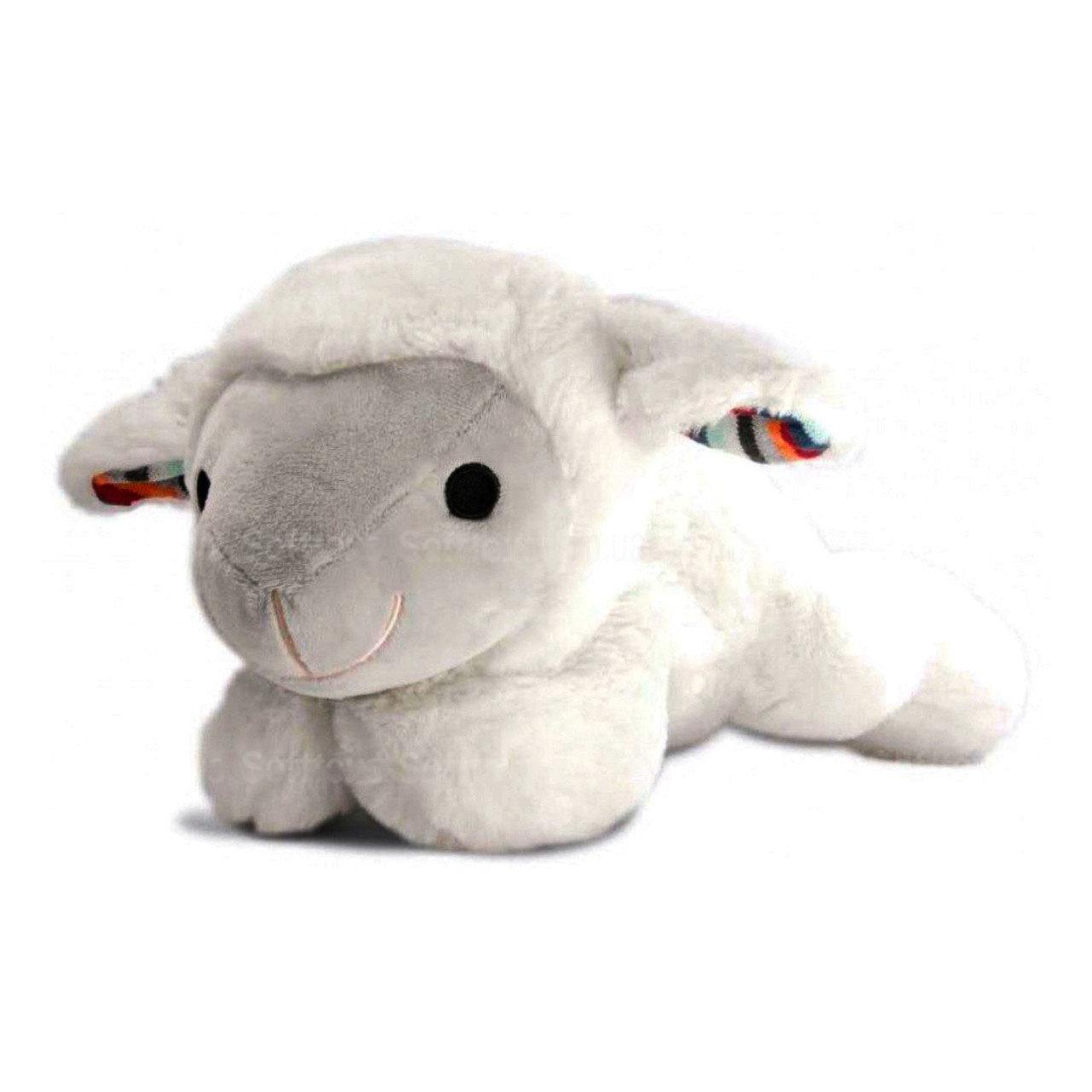Мягкая игрушка ZAZU музыкальная с белым шумом Барашек LIZ