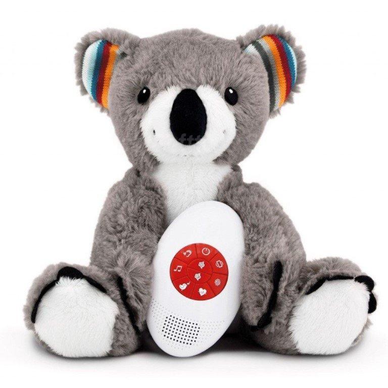 Мягкая игрушка ZAZU музыкальная с белым шумом Коала COCO