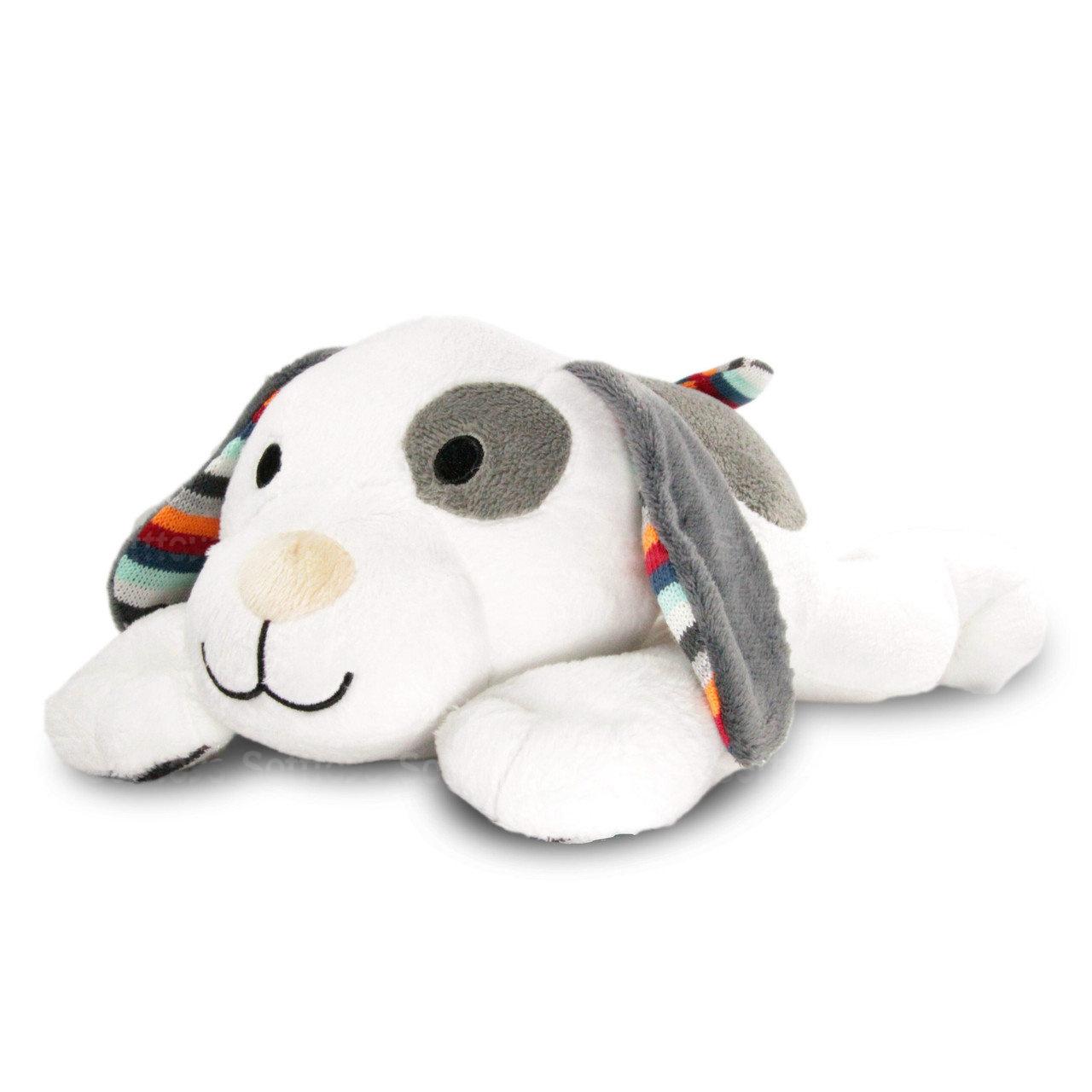 Мягкая игрушка ZAZU музыкальная с белым шумом Собачка DEX