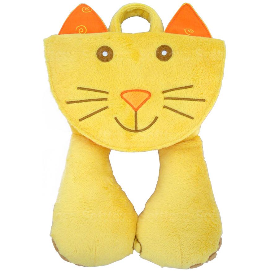Мягкая игрушка-подголовник Котенок