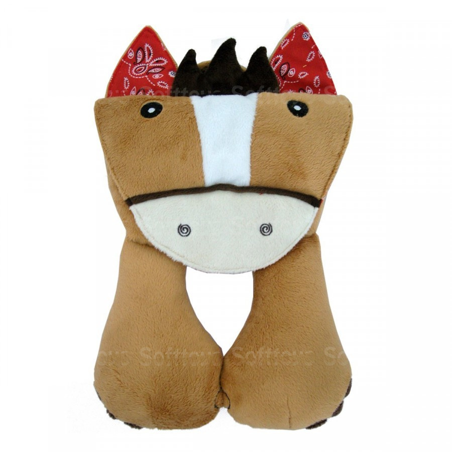 Мягкая игрушка-подголовник Лошадка