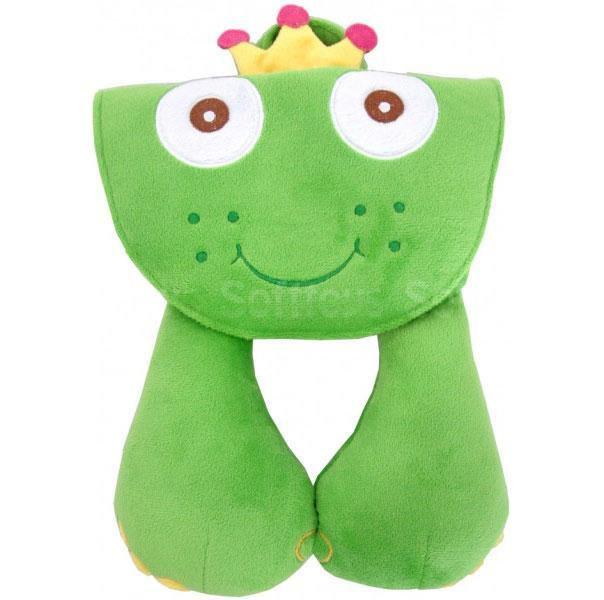 Мягкая игрушка-подголовник Лягушка