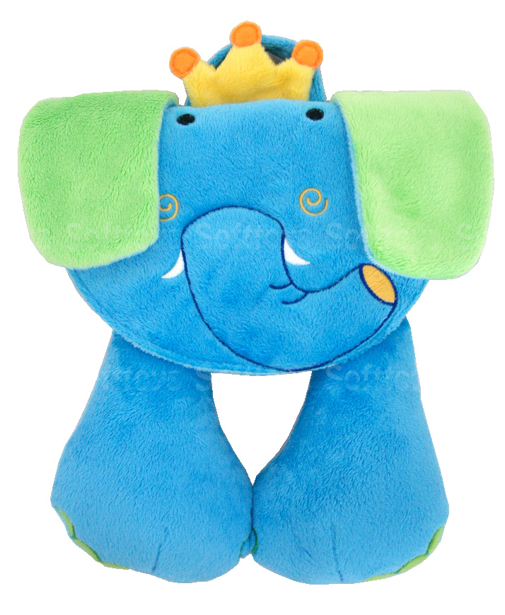 Мягкая игрушка-подголовник Слоник