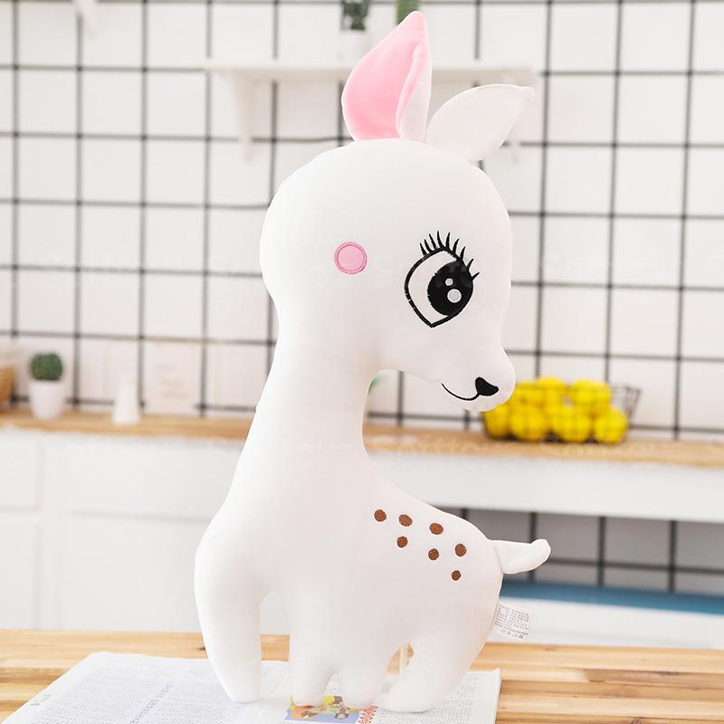 Мягкая игрушка-подушка Белый Оленёнок