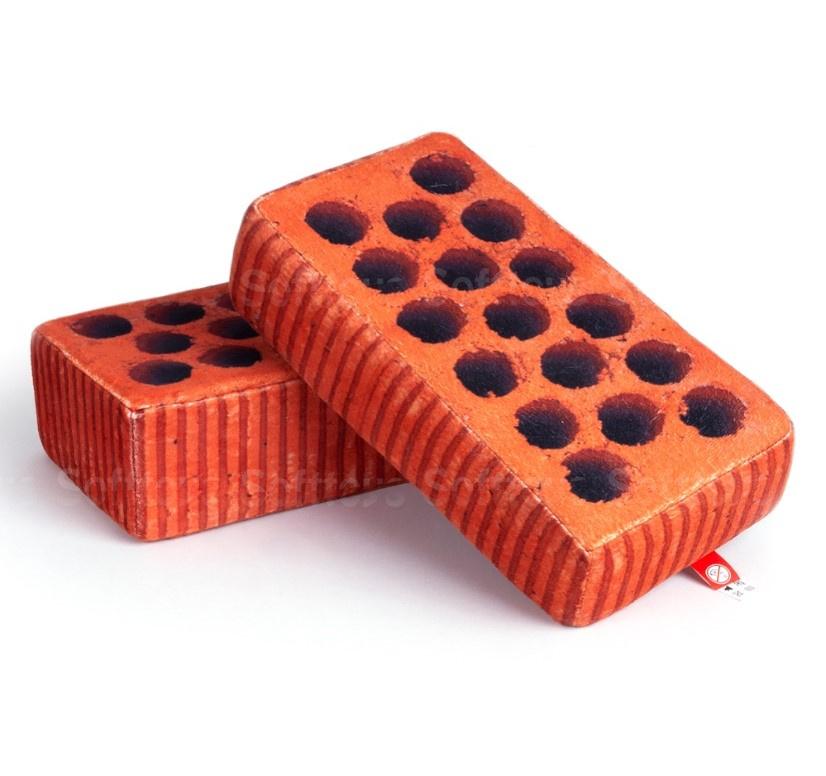 Мягкая игрушка-подушка Кирпич