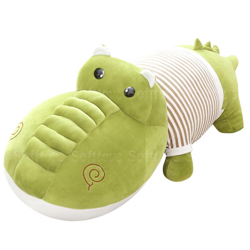 Мягкая игрушка-подушка Крокодил Гена 95см