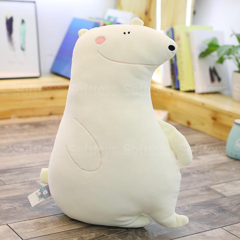 Мягкая игрушка-подушка Полярный медвежонок