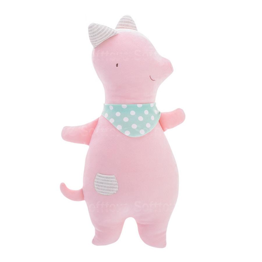Мягкая игрушка-подушка Розовая Свинюшка