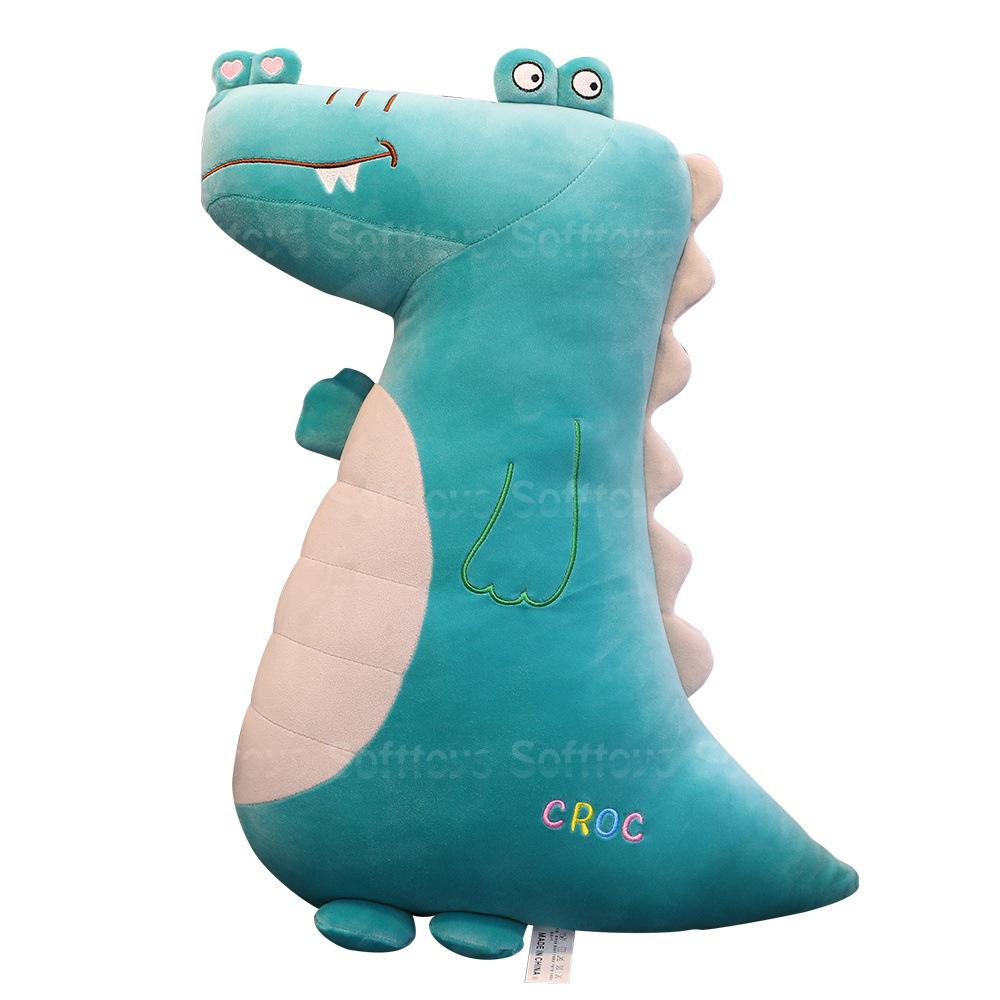Мягкая игрушка-подушка Веселый крокодил