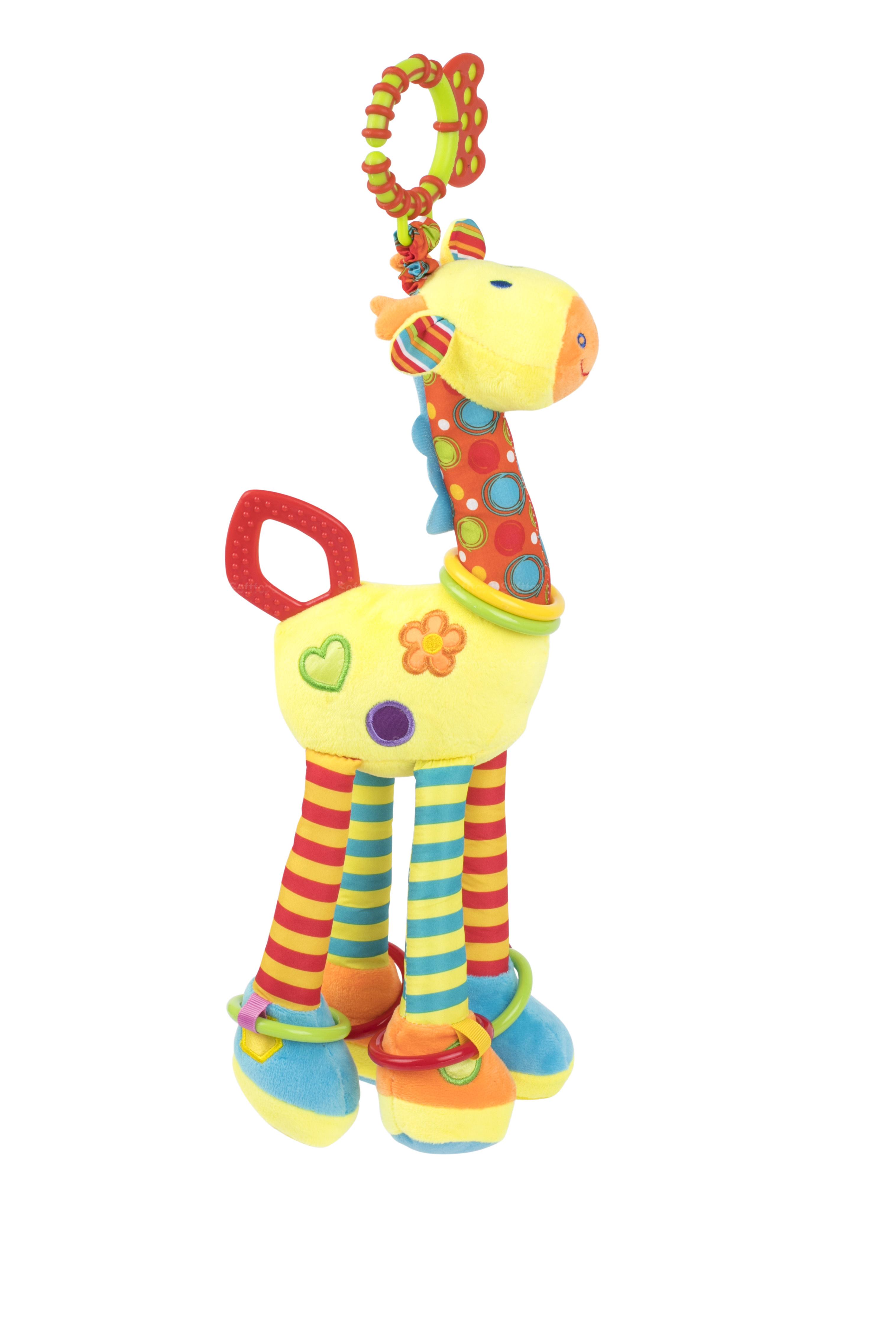 Мягкая игрушка-подвеска BabyTeam Жираф