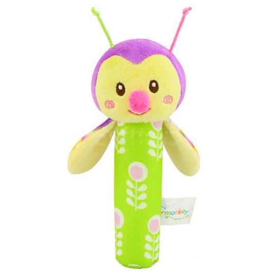 Мягкая игрушка-погремушка Жучёк