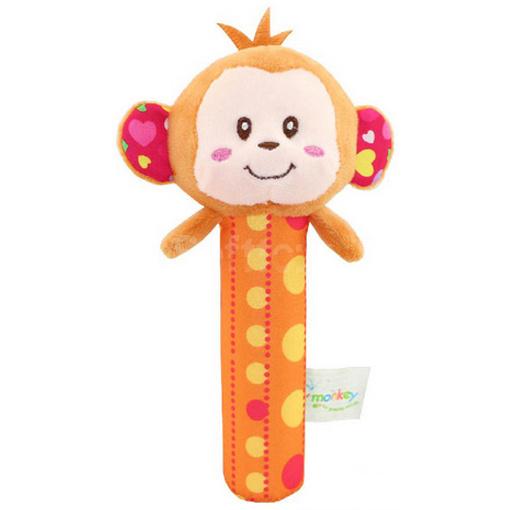 Мягкая игрушка-погремушка Мартышка