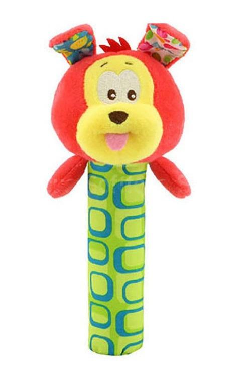 Мягкая игрушка-погремушка Щенок