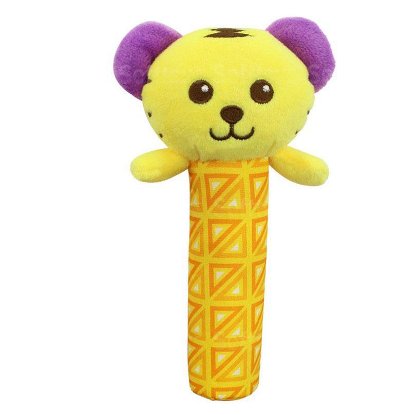 Мягкая игрушка-погремушка Тигрёнок