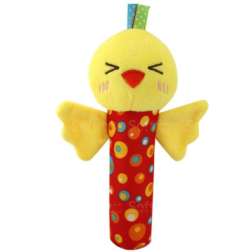 Мягкая игрушка-погремушка Цыплёнок