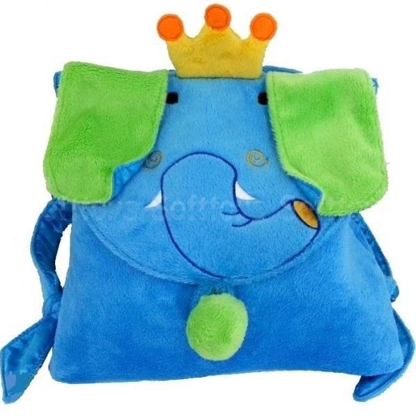 Мягкая игрушка-рюкзачек Слоненок