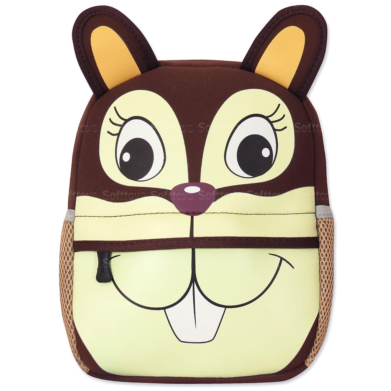 Мягкая игрушка-рюкзак Белочка