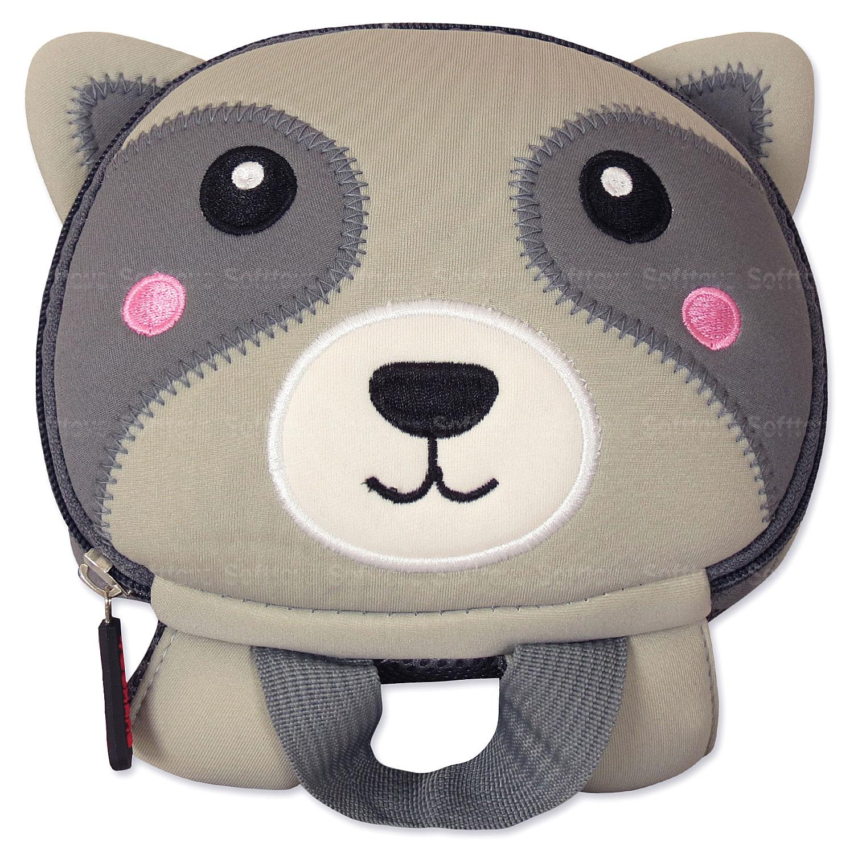 Мягкая игрушка-рюкзак Енотик