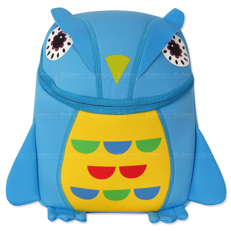 Мягкая игрушка-рюкзак Филин BLU